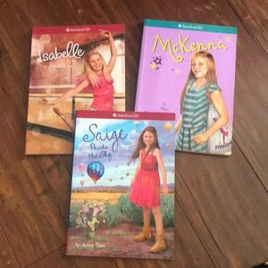 3 American Girl chapter books